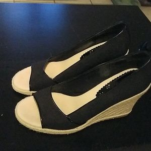 New Tommy Hillfiger Wedges size 10